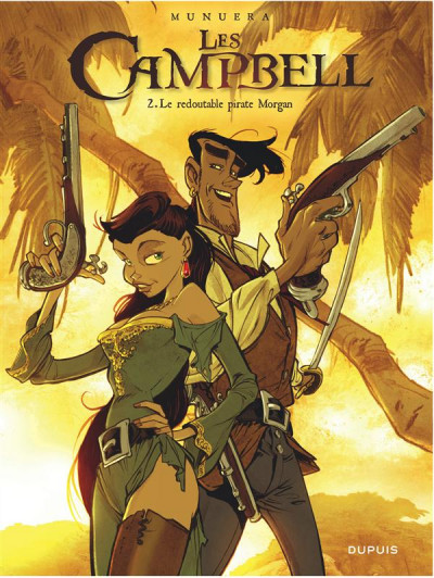 Couverture Les Campbell tome 2