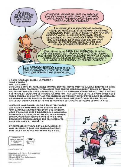 Page 2 le petit spirou présente…tome 6 - mon prof de zumba
