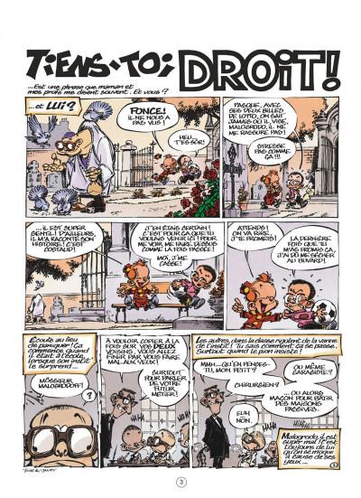 Page 3 le petit spirou présente…tome 6 - mon prof de zumba