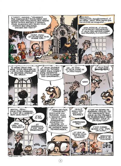 Page 4 le petit spirou présente…tome 6 - mon prof de zumba