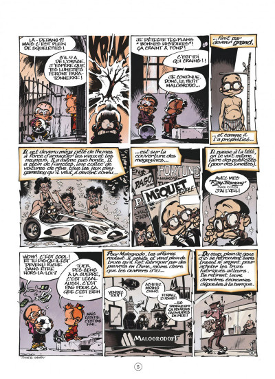 Page 5 le petit spirou présente…tome 6 - mon prof de zumba