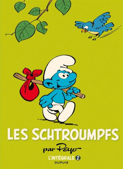 Couverture Les schtroumpfs - intégrale tome 2