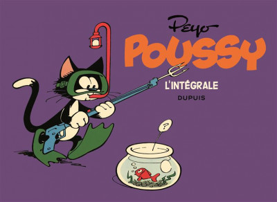 Couverture Poussy - intégrale