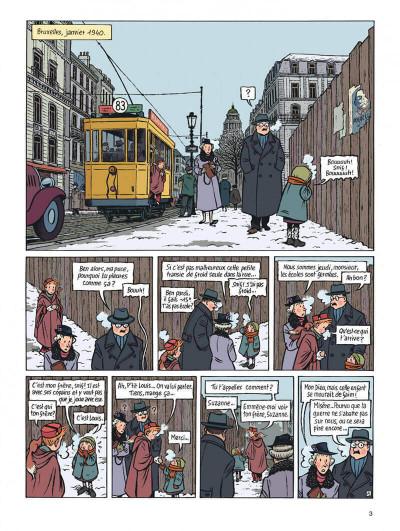 Page 3 Spirou - l'espoir malgré tout tome 1