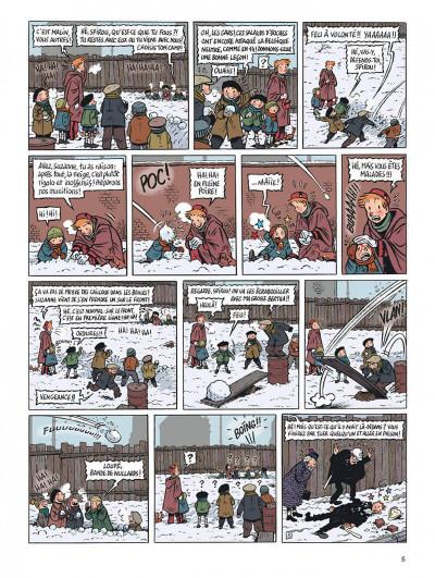 Page 5 Spirou - l'espoir malgré tout tome 1