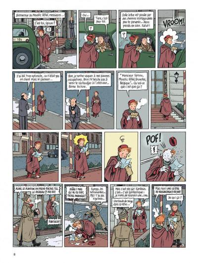 Page 8 Spirou - l'espoir malgré tout tome 1