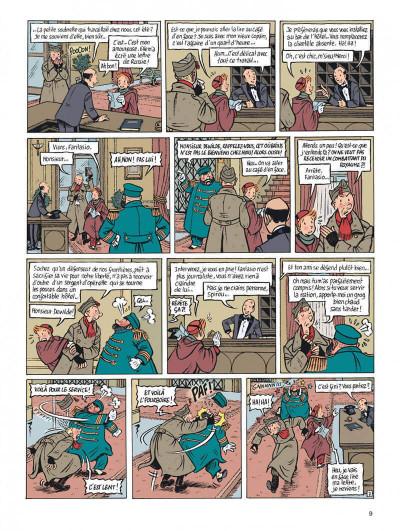 Page 9 Spirou - l'espoir malgré tout tome 1