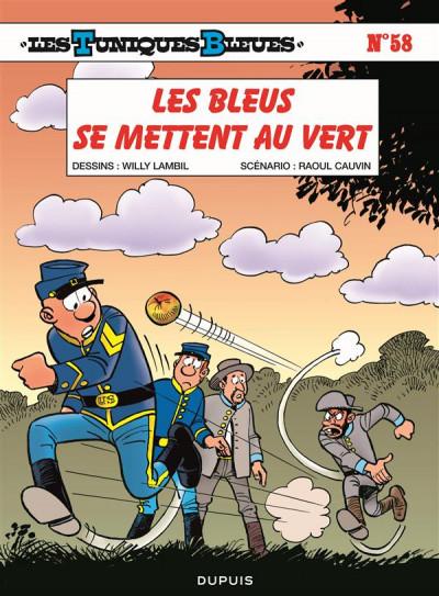 Couverture Les tuniques bleues tome 58