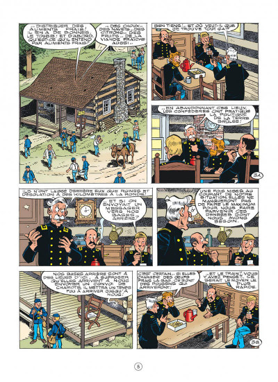 Page 5 Les tuniques bleues tome 58