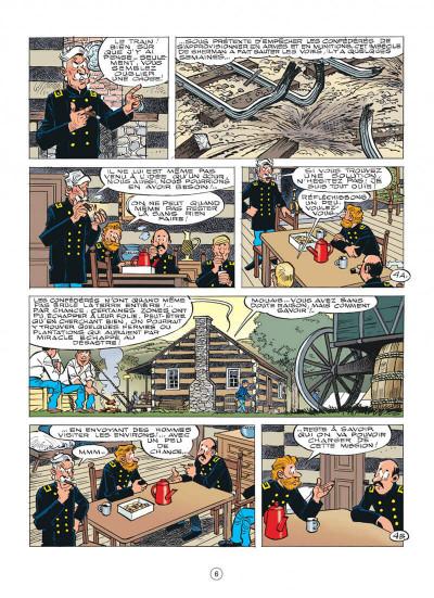 Page 6 Les tuniques bleues tome 58
