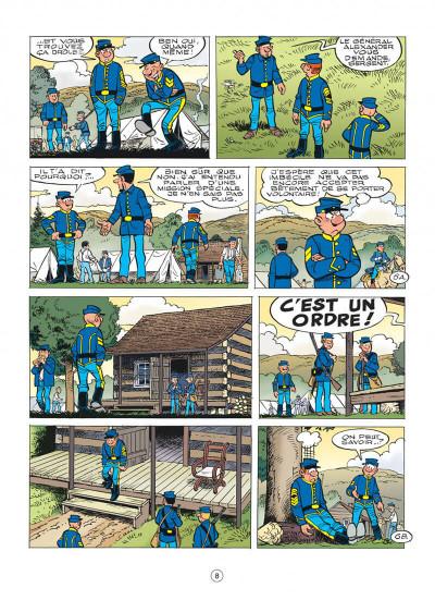 Page 8 Les tuniques bleues tome 58