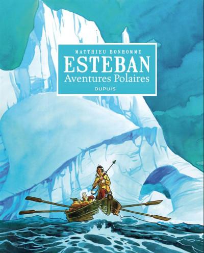 Couverture Esteban L'Intégrale N&B Cycle 1 - Les Aventures Polaires