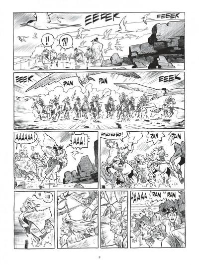 Page 9 Esteban L'Intégrale N&B Cycle 1 - Les Aventures Polaires