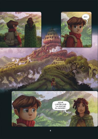 Page 8 Wormworld saga tome 2