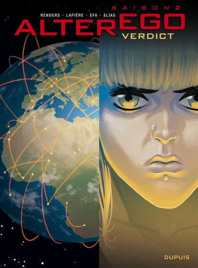 Couverture alter ego - saison 2 tome 4 - verdict