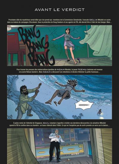 Page 1 alter ego - saison 2 tome 4 - verdict