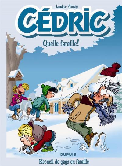 Couverture Cédric - best of tome 6 - recueil de gags en famille