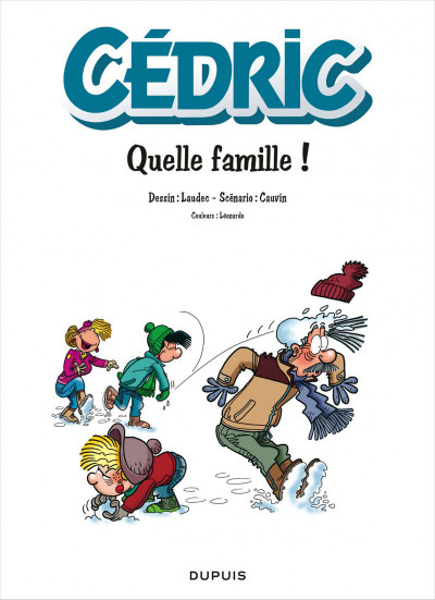 Page 1 Cédric - best of tome 6 - recueil de gags en famille
