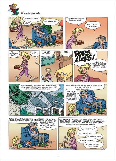 Page 3 Cédric - best of tome 6 - recueil de gags en famille