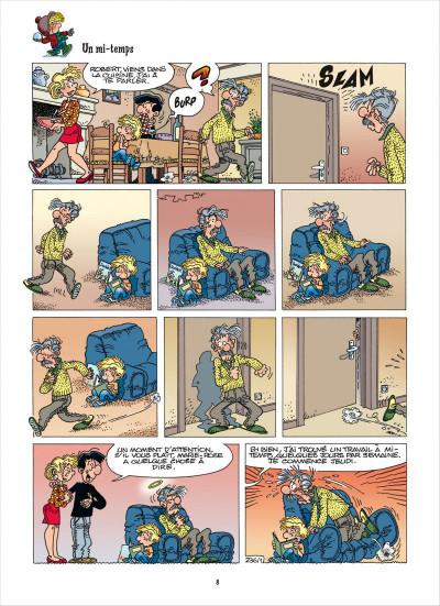 Page 8 Cédric - best of tome 6 - recueil de gags en famille