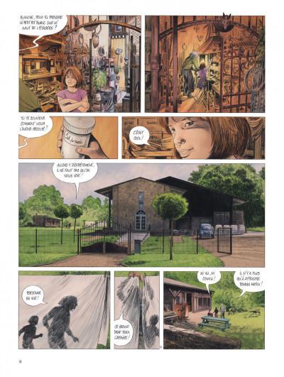 Page 8 Les chemins de Compostelle tome 1
