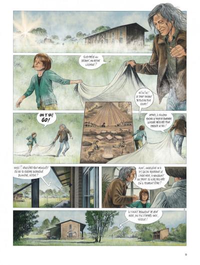 Page 9 Les chemins de Compostelle tome 1