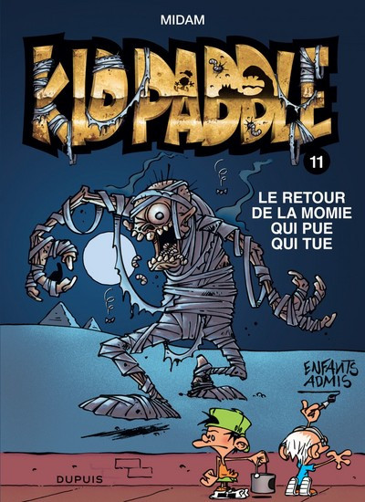 Couverture Kid Paddle tome 11 (indispensables de la BD)