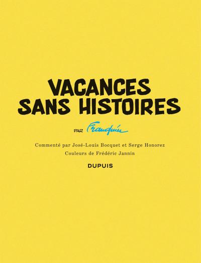 Page 3 Histoire courte tome 4 - Vacances sans histoires