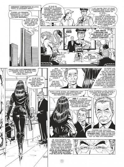 Page 5 Buck Danny tome 54 (noir et blanc)