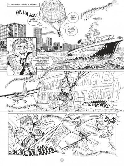 Page 6 Buck Danny tome 54 (noir et blanc)