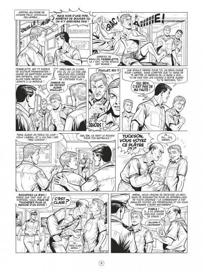 Page 8 Buck Danny tome 54 (noir et blanc)