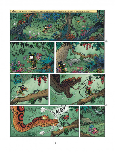 Page 3 Marsupilami tome 28