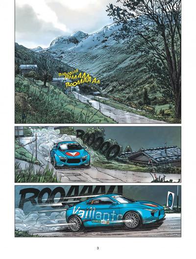Page 3 Michel Vaillant - nouvelle saison tome 3