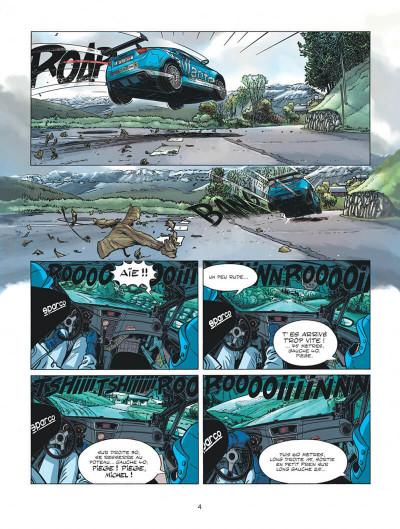 Page 4 Michel Vaillant - nouvelle saison tome 3