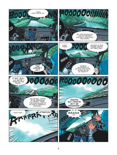 Page 5 Michel Vaillant - nouvelle saison tome 3