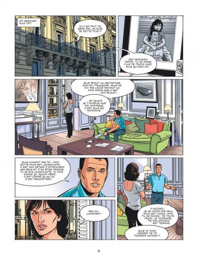 Page 6 Michel Vaillant - nouvelle saison tome 3