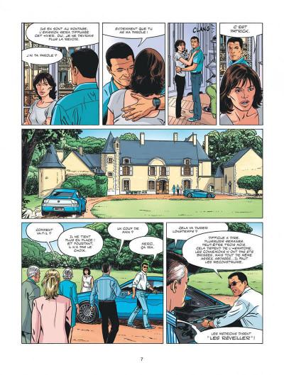 Page 7 Michel Vaillant - nouvelle saison tome 3
