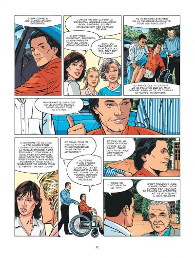 Page 8 Michel Vaillant - nouvelle saison tome 3