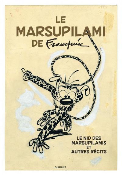 Couverture Le marsupilami de Franquin tome 19 - intégrale VO
