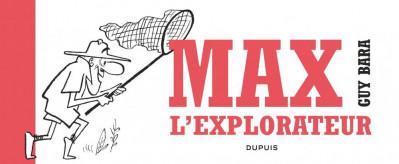 Couverture Max l'explorateur