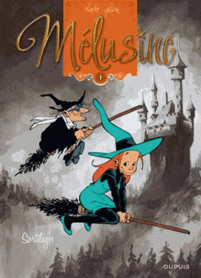 Couverture Mélusine tome 1 - sortilèges (nouvelle édition)