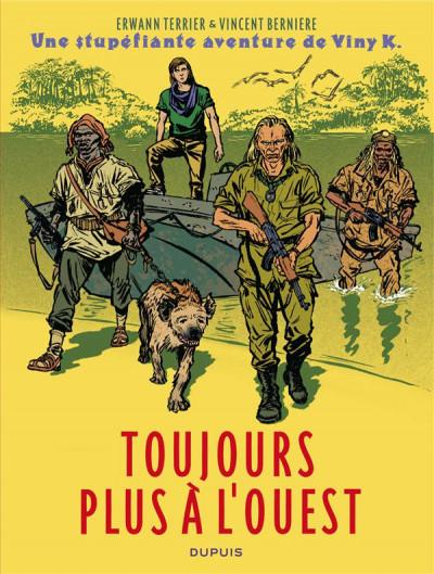 Couverture une stupéfiante aventure de Viny K. tome 2 - colonel Diambar
