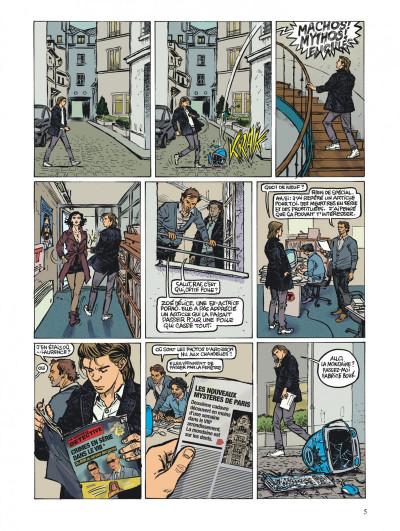 Page 5 une stupéfiante aventure de Viny K. tome 2 - colonel Diambar