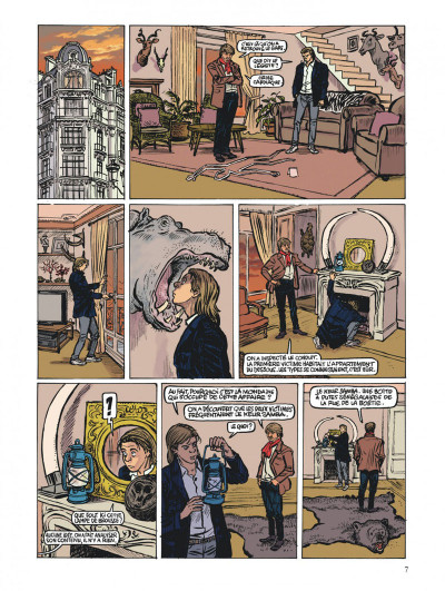 Page 7 une stupéfiante aventure de Viny K. tome 2 - colonel Diambar