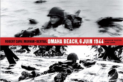 image de magnum photos - Omaha Beach 6 juin 1944