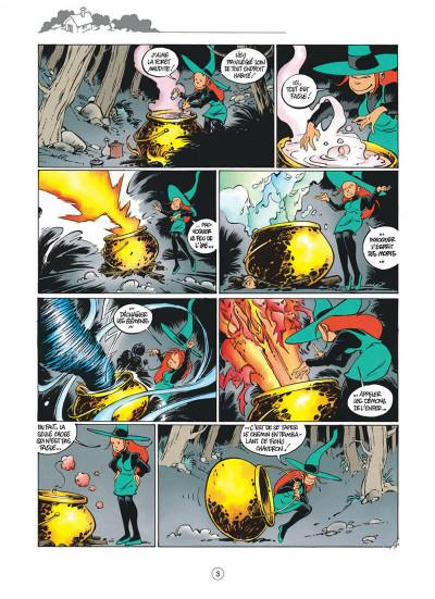 Page 3 Mélusine tome 4 histoires à lire au coin du feu