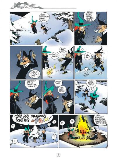 Page 5 Mélusine tome 4 histoires à lire au coin du feu
