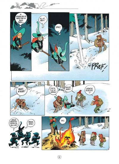 Page 6 Mélusine tome 4 histoires à lire au coin du feu