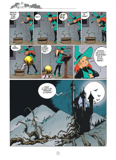 Page 7 Mélusine tome 4 histoires à lire au coin du feu