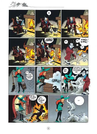 Page 8 Mélusine tome 4 histoires à lire au coin du feu